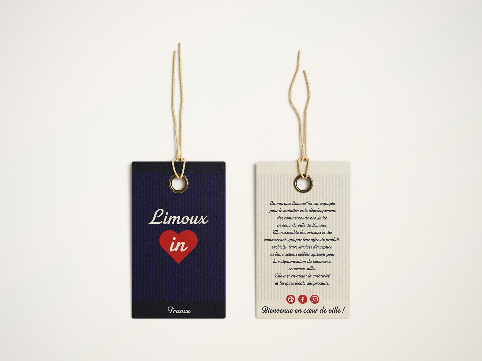 Coeur Limoux'in Etiquettes