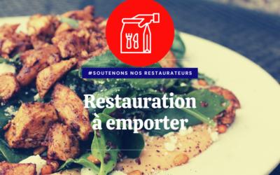 Liste des restaurants – Vente à emporter