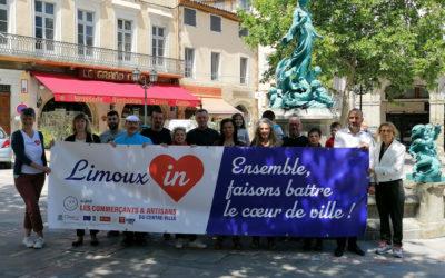Limoux-in, une marque engagée pour le cœur de ville !