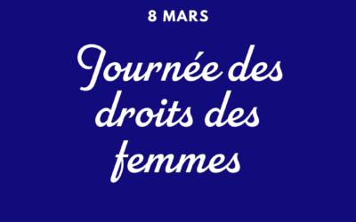 [8 mars] Journée des LUTTES pour les DROITS des femmes